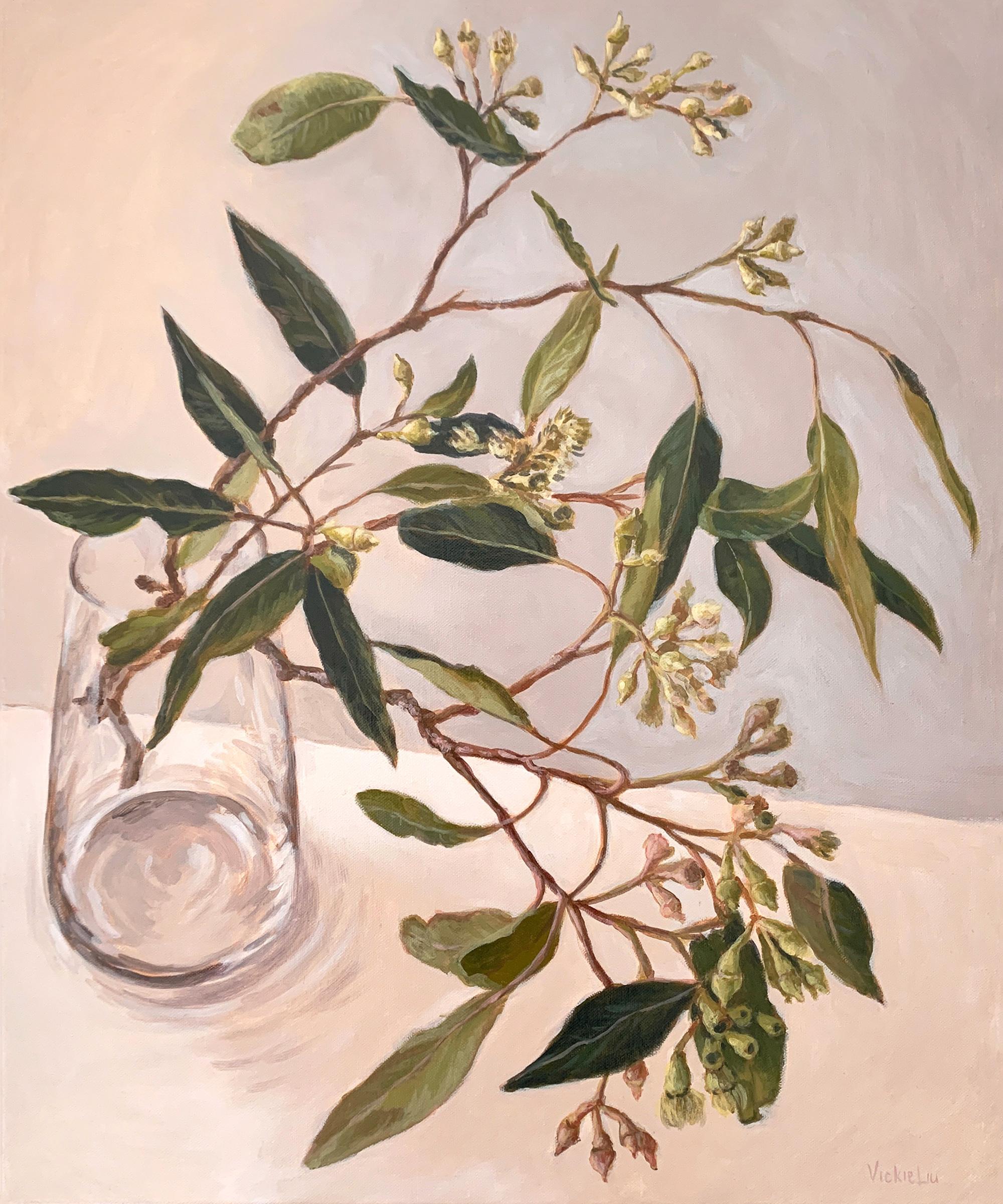 Vickie Liu Zen Gum Leaves 50×60