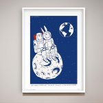 We heard earth was the best planet in the solar system Ltd Ed Giclee Print