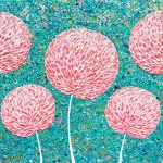 Flowers – Pink Flowers – SOLD