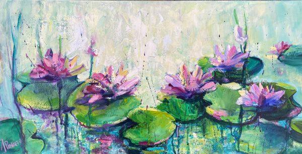 Pink Waterlillies 1