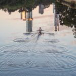 Rowing across reflections No 2