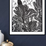 Bird on a Banksia