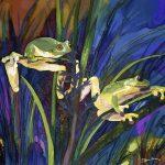 2 Frogs Ltd Ed print 2/100