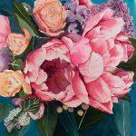 Billie's Flowers Ltd Ed Print