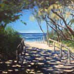 A shady path to the Beach