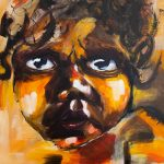 Aboriginal Baby Portrait