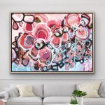 Beautiful Love – Large Abstract Flowers