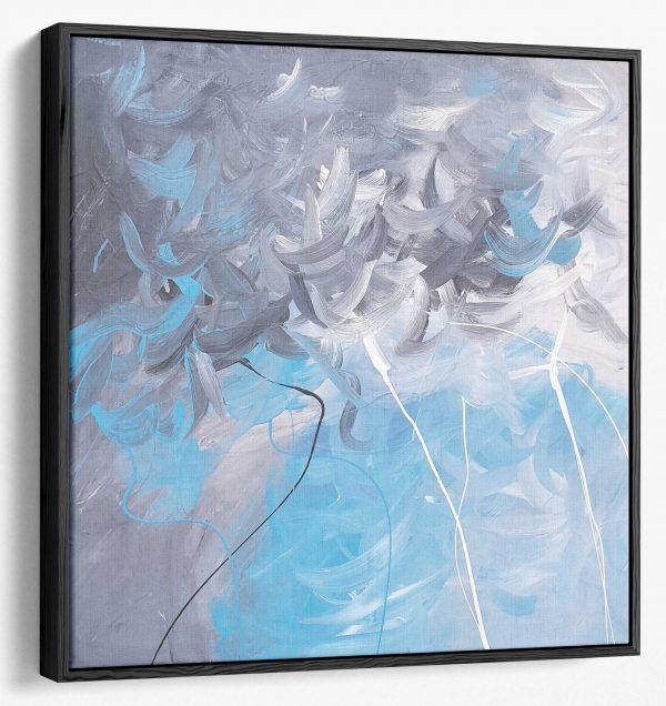 Canvas 110x110 Cm + Frame 1.8cm (angled)v