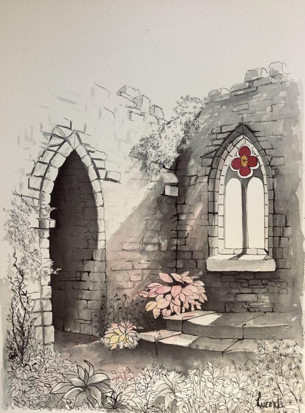 Chapel Garden Lucinda Leveille