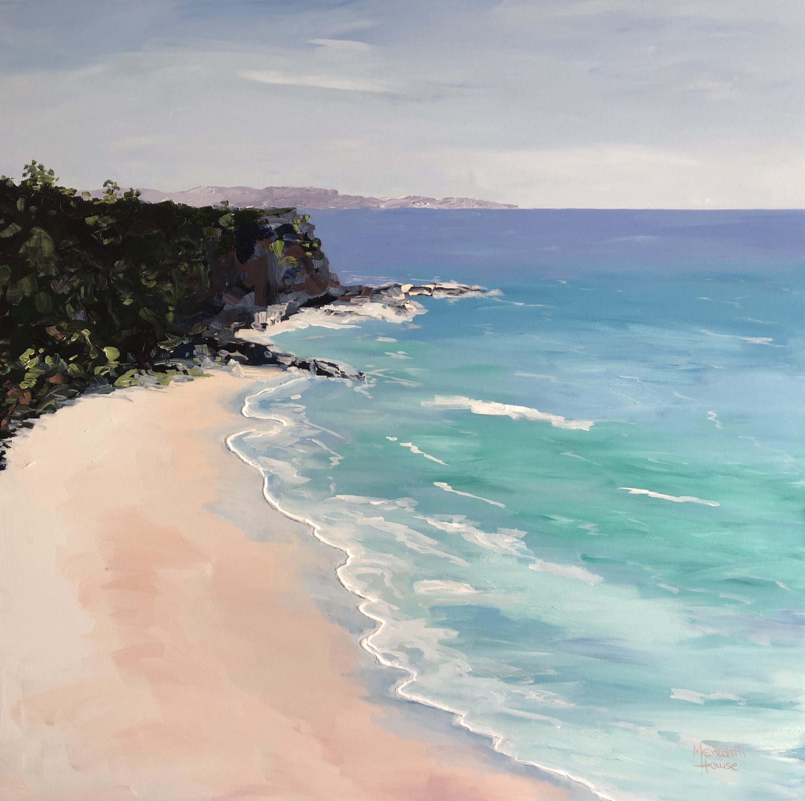 Coolum Seascape By Meredith Howse