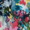 Crazy Love Floral Abstract Painting By Artist Amber Gittins Crop 2