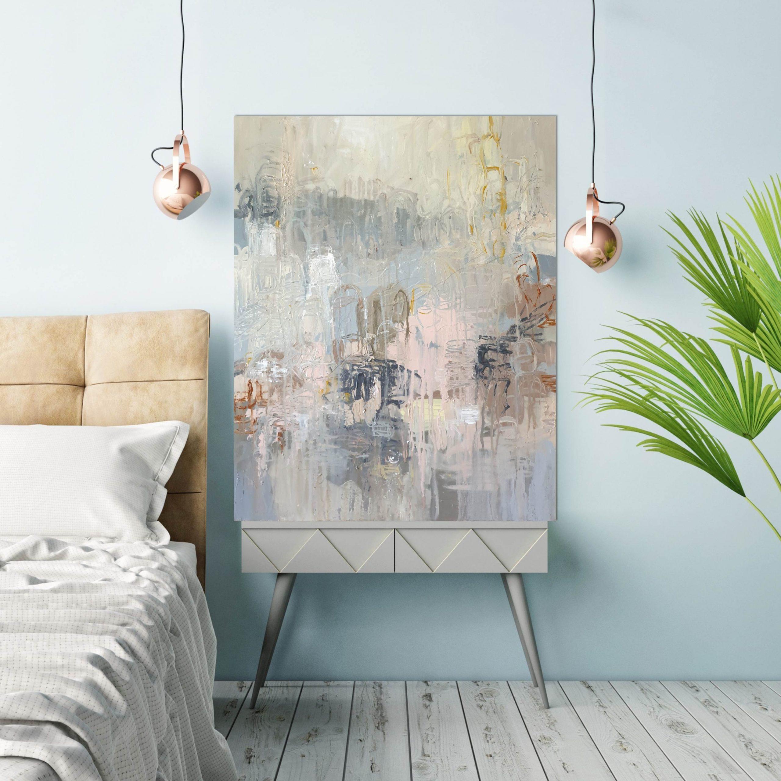 Dawn Bedhead Pale Blue Wall