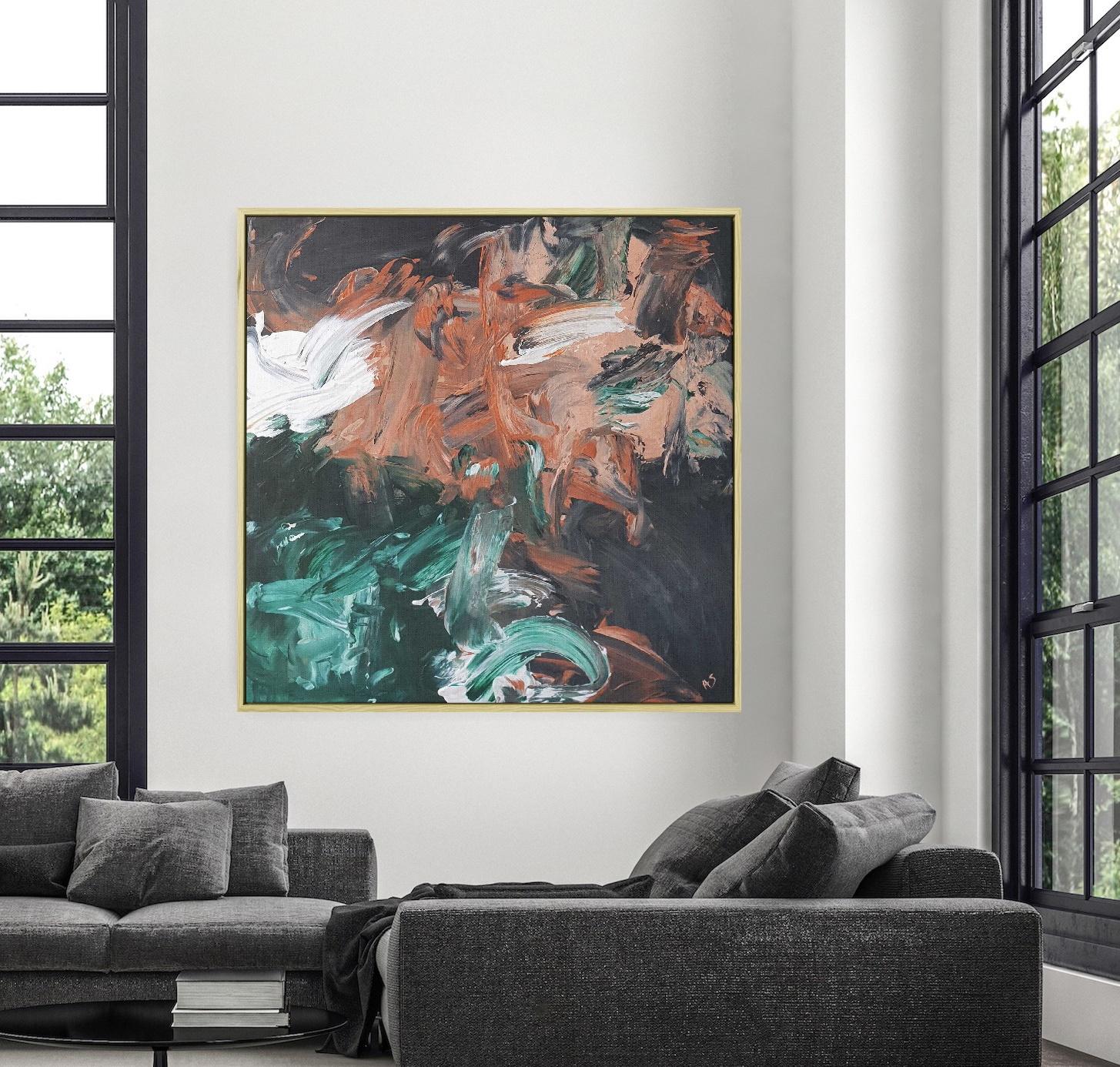 Gabriela Azar Schreiner Large Painting Abstract Art 11dfg4