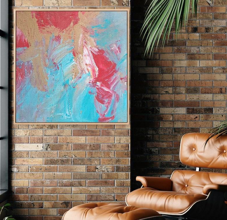 Gabriela Azar Schreiner Large Painting Abstract Art 11gdg4