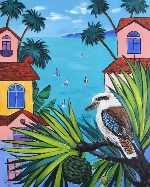 Kookaburra Abstract Australia 1