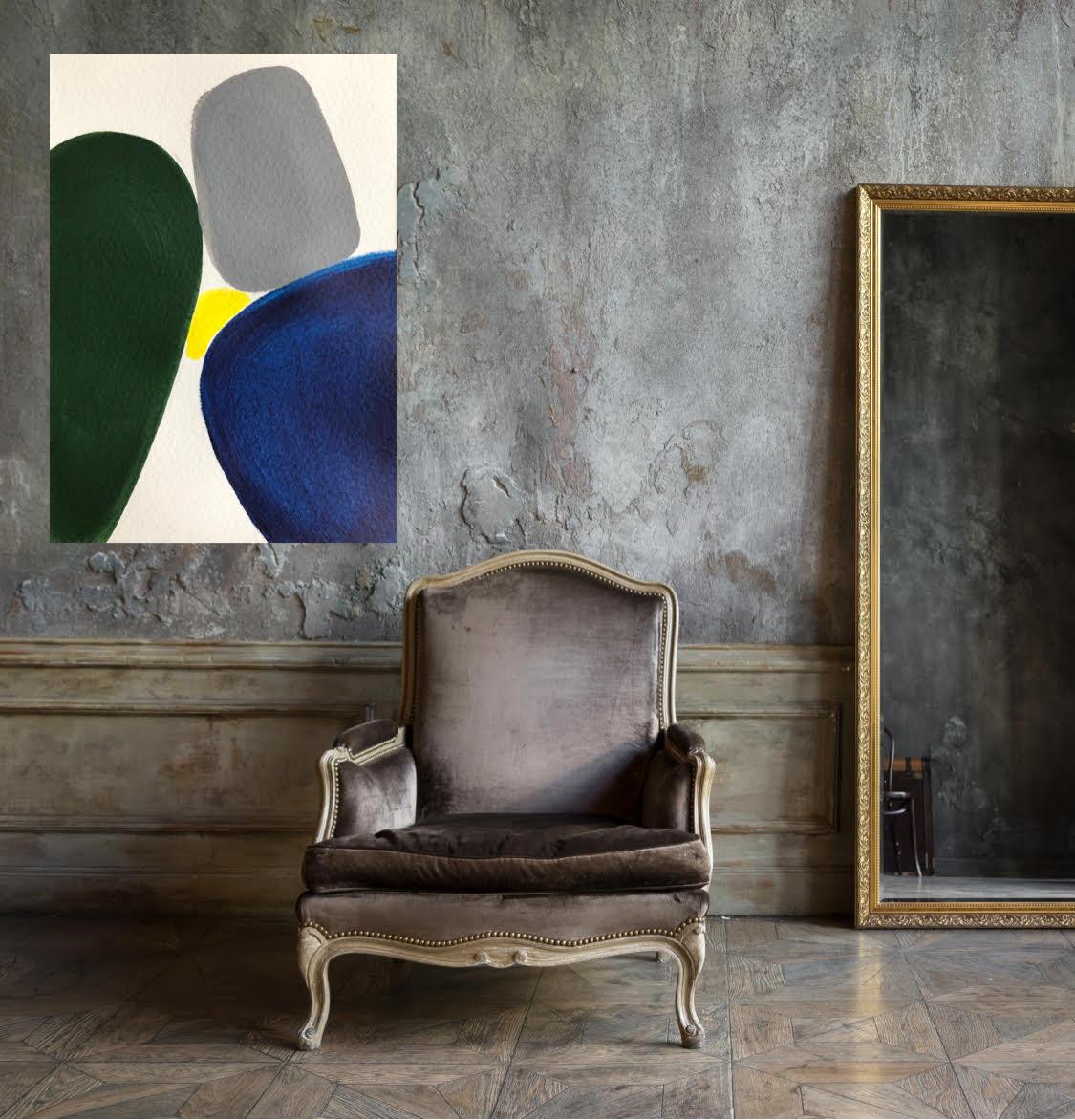 Lanaalsamirdiamond Letsdothis Grey Chair