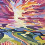 Looking West – Riverina Skies 4