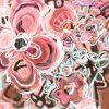 Love Tonic Jen Shewring 2021 Acrylic 102x100cm On Canvas Roll 112x110cm