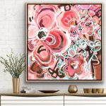 Love Tonic – Large Abstract Flowers