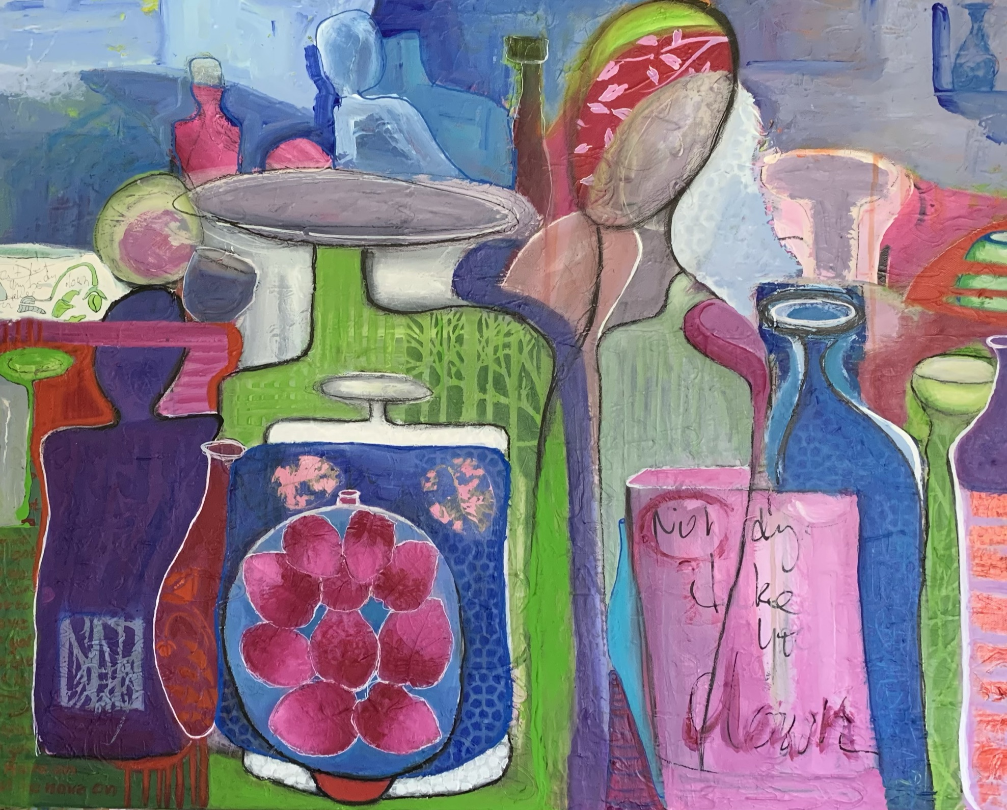 Marijke Lambregtse A Dream Like Mine 76×61