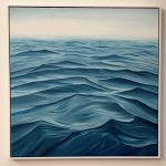 Just Jump In – large ocean abstract