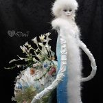 Octopodian Diva – art doll sculpture