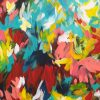 Splash Paradise Colourful Abstract Painting By Australian Artist Amber Gittins Cropped 2