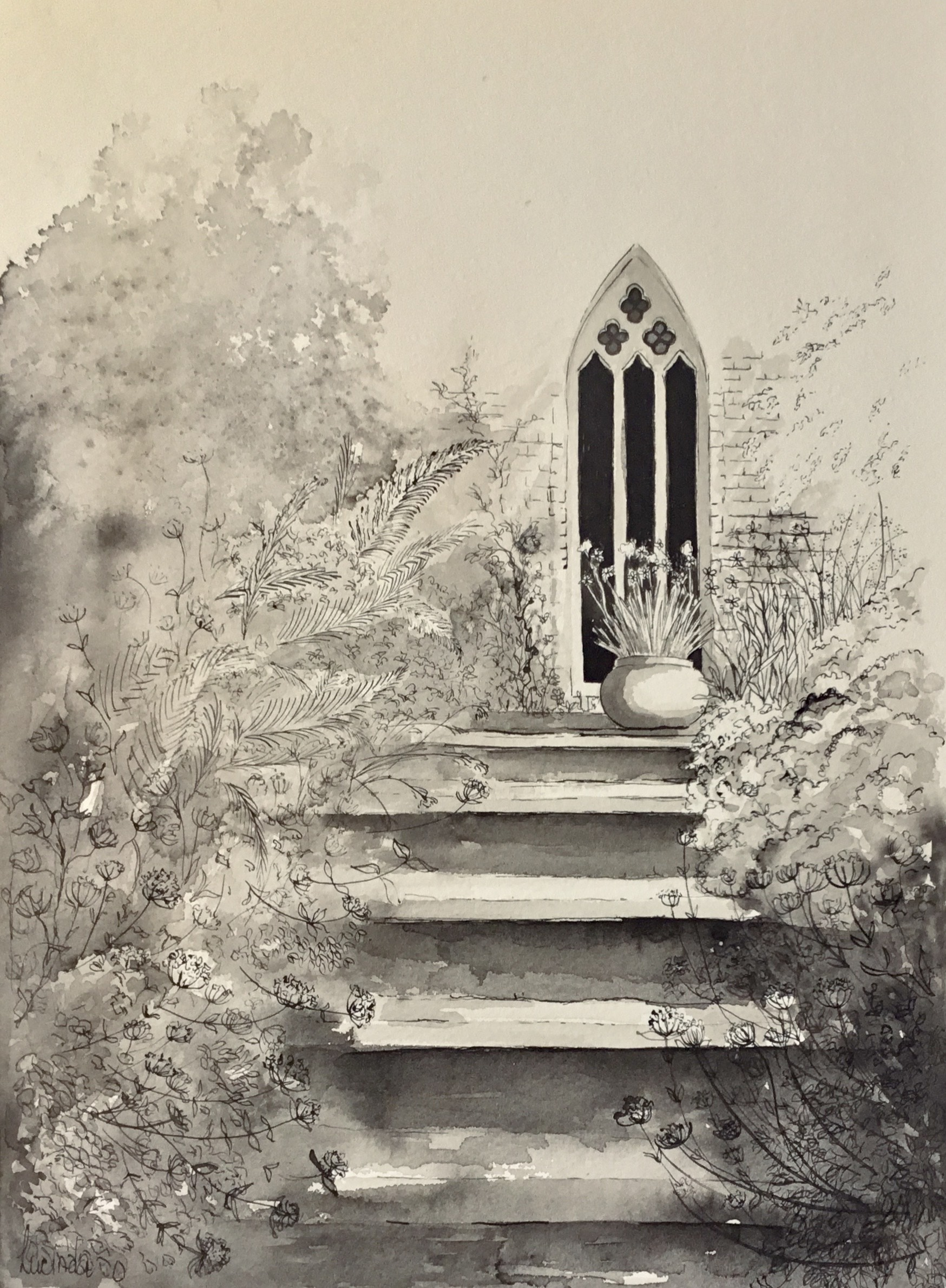Steps To The Chapel Lucinda Lveille