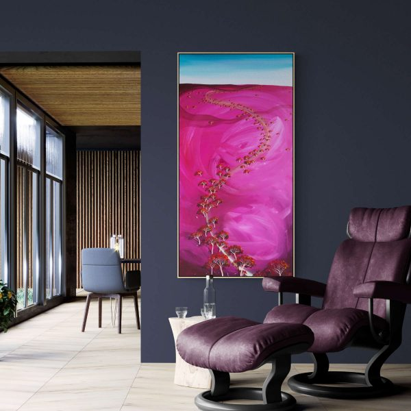 Tania Chanter Autumn Blush Close Abstract Landscape