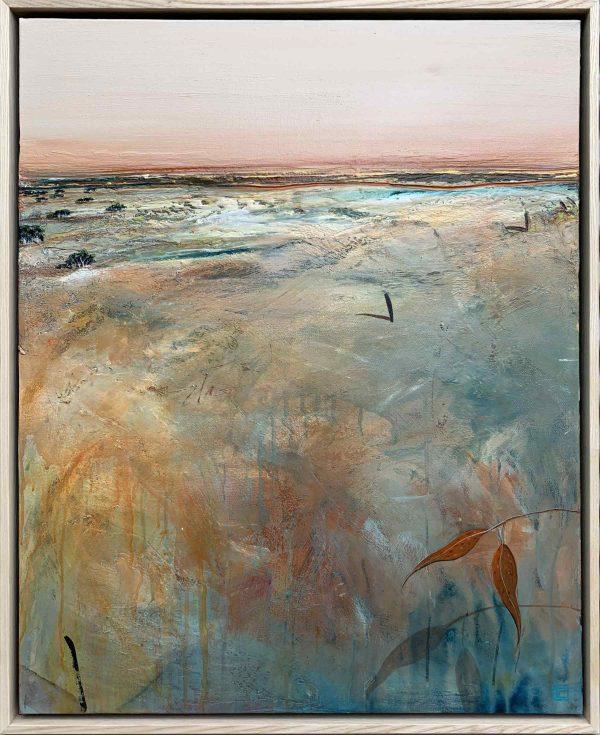 Tania Chanter Dusk At The Inlet Australian Art