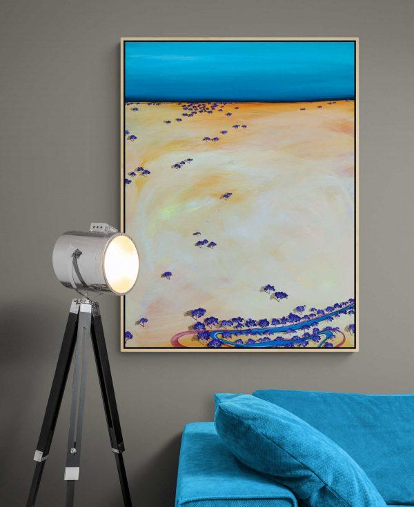 Tania Chanter Low Plains Drifter Australian Landscape Art