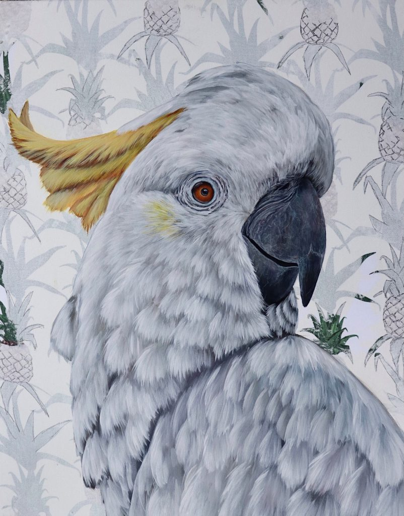 The Alabaster Regent Art Lovers Australia Rek Bird Art Bird Paintings