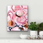 Union In Pink – Mini Abstract Flowers