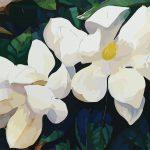 White magnolia No 2  Ltd Ed Print