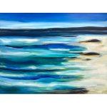 Across the Bay- Ocean Beach Abstract