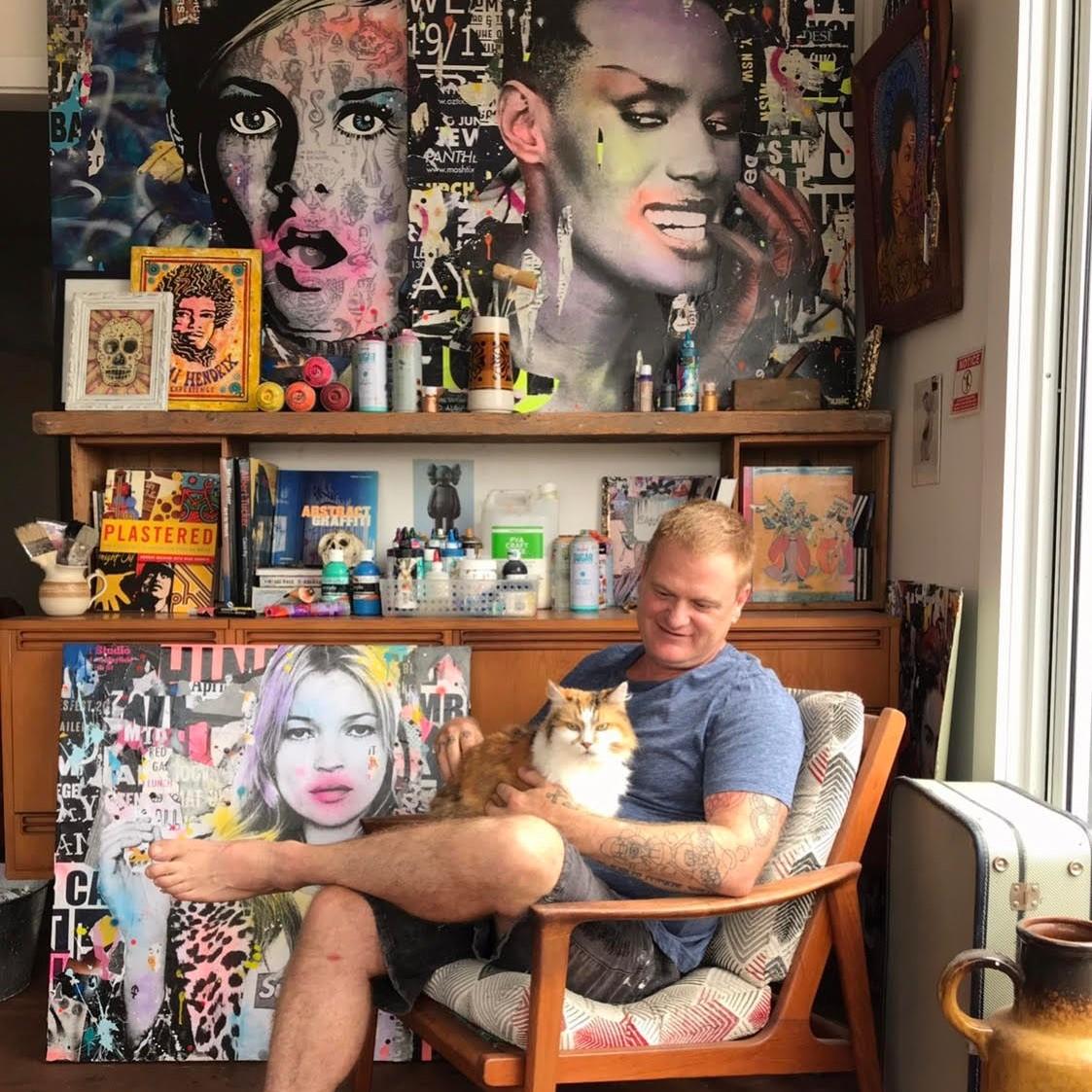 Brendan Walsh Coldghost Artist Art Lovers Australia