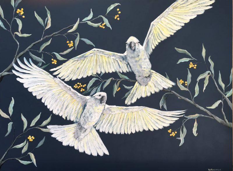 Emma Nancarrow Art Lovers Australia Bird Paintings For Sale