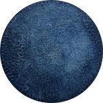 Indigo Blue – Ocean Coral Abstract