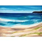 Marcoola Beach – Ocean Beach Abstract