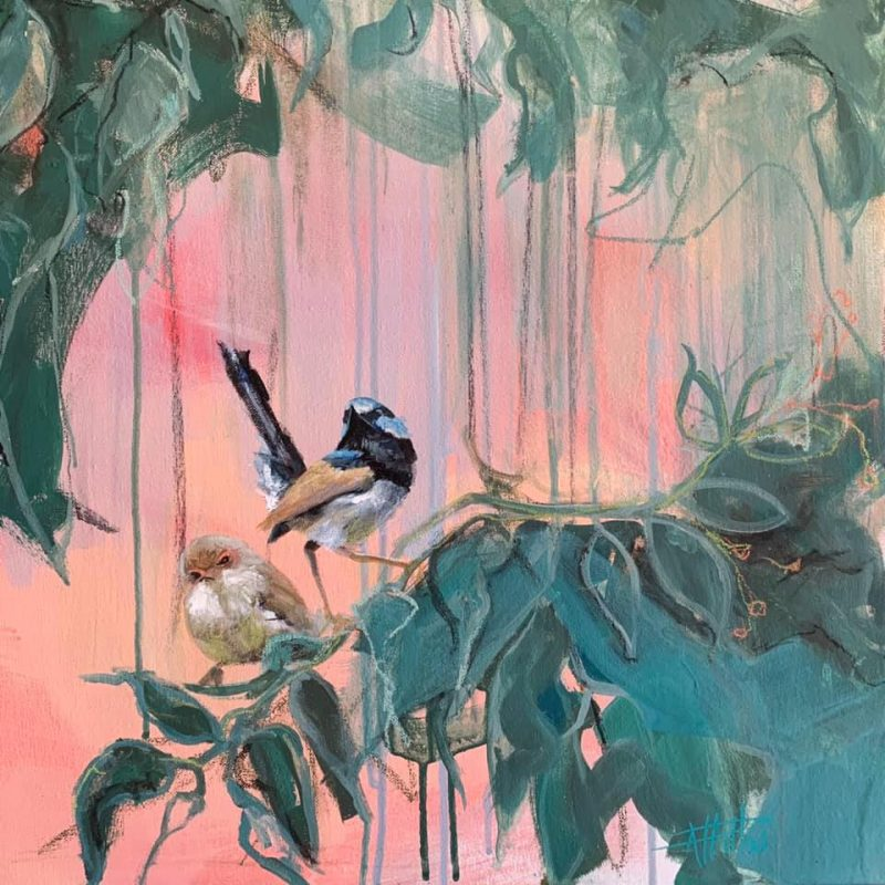Rebecca Hill Art Lovers Australia Bird Artworks
