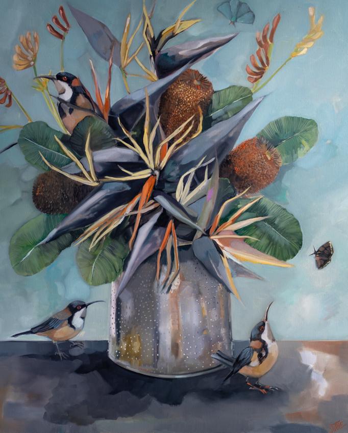 Sam Suttie Art Lovers Australia Bird Art Bird Paintings