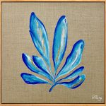Sea Blue Seaweed 1 – Ocean Coral and Seaweed Collection