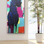 The Colourful Black Cockatoo