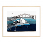 3D Perspex Sydney Opera House