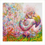 Felicity Flamingo Ltd Ed Print Ed