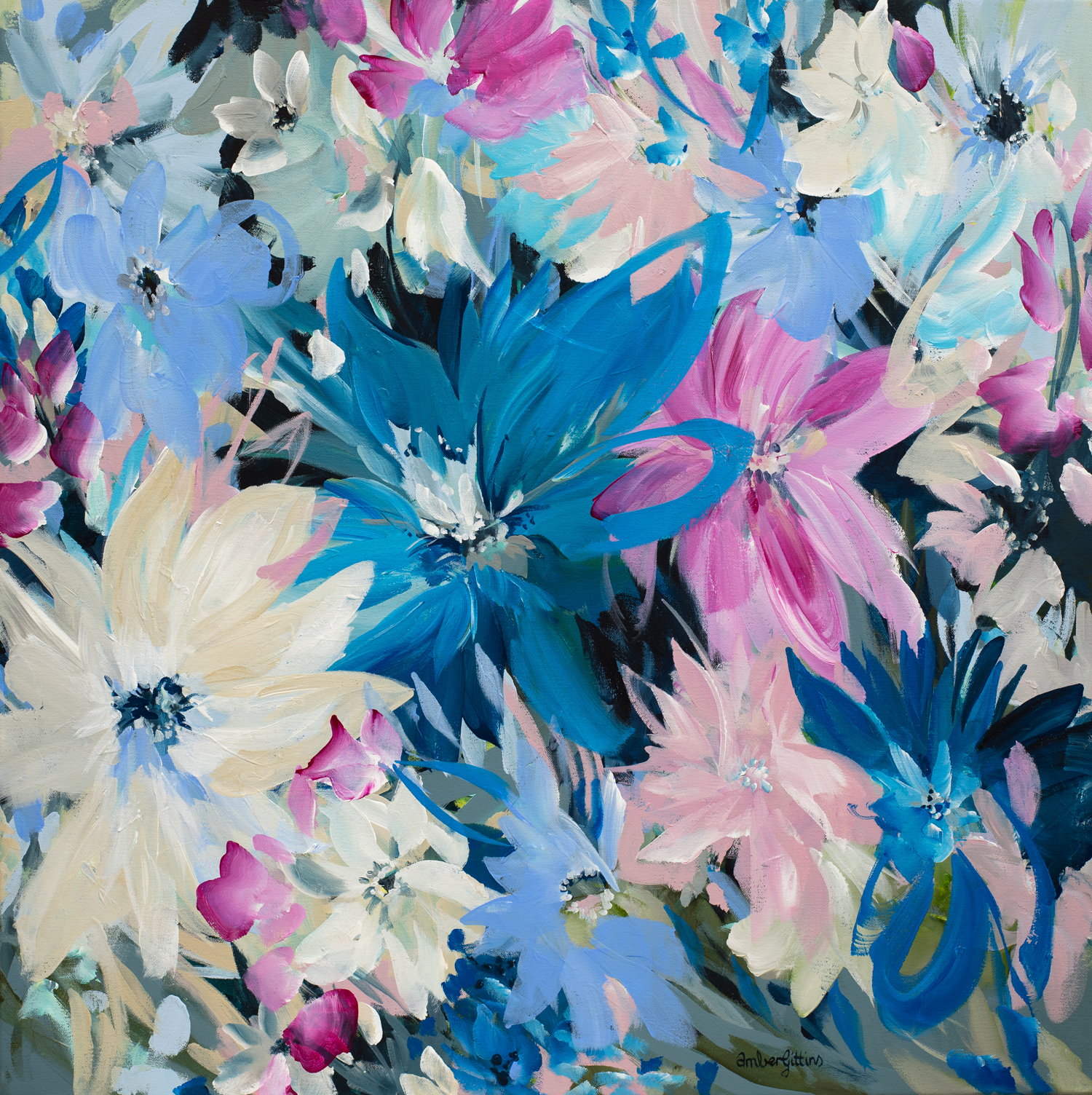 All Kinds Of Wonderful Abstract Floral