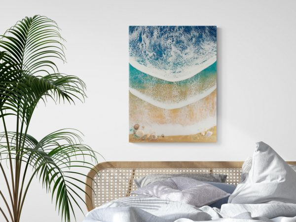Beach Waves Art Beach Paradise By Michelle Tracey
