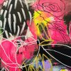 Carita Farrer Spencer Detail #4 110 X 80cm Acrylic On Canvas