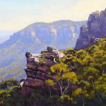 View to Pulpit Hill, Blue Mountains