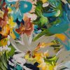 Hide And Seek Botanical Abstract Painting Crop 2
